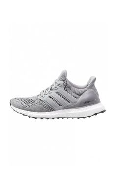 adidas Performance ULTRA BOOST Cushioned running shoes grey/silver metallic/solar  red #Modenova