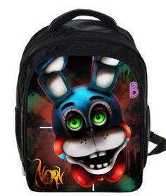 f9216f79ea81 Five Nights At Freddys Backpack FNAF Chica Foxy Bonnie Mangle Children  School Bags Chica Backpacks Boys Girls Kindergarten Bag