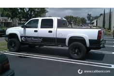 Partial wrap on this Chevy Silverado makes the truck look even better!