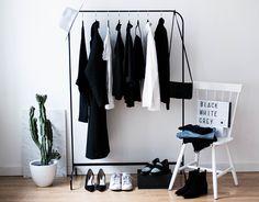 Minimal wardrobe staples & closet inspiration // noanoir.com