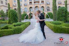 Hilton Lake Las Vegas wedding by Images by EDI