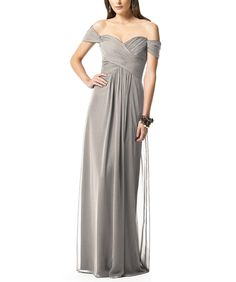 Dessy Collection 2844. Colors Taupe, Topaz, Cameo, Platinum, Oyster,