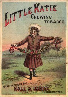 Hall & Daniel Tobacco Manufacturer's Little Katie Chewing Tobacco – Little Katie Chewing Tobacco