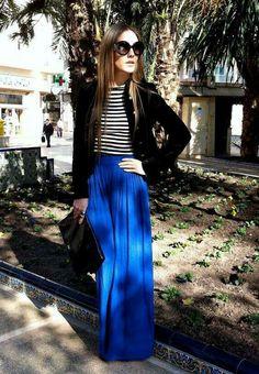 Lularoe maxi skirt outfit idea