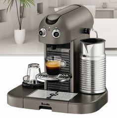 Register for FREE to win a Breville Nespresso Machine!