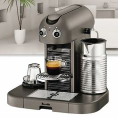 Register for FREE to win a Breville Nespresso Machine!