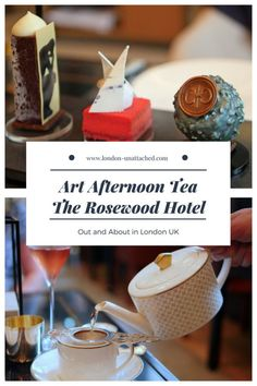 Art Afternoon Tea at The Rosewood Hotel, London Backpacking Europe, Rosewood Hotel, Rosewood London, Afternoon Tea London, Things To Do In London, Tea Art, London Hotels, London Travel, Foodie Travel