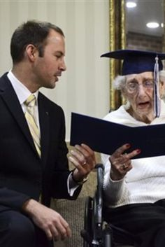 Woman Gets High School Diploma 80 Years After Dropping Out To Help Family