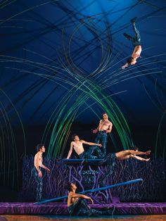 Cirque du Soleil's Amaluna: these boys remind me of the Wickersham brothers in Suessical!