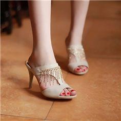 2013 Latest Western Stiletto Heel Sandals