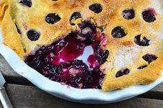 Maine: Blueberry Pie
