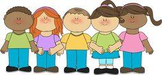 Happy Children Clip Art - Happy Children Image