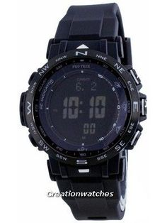 Resin Case, Silicon Strap, Mineral Crystal, Digital Display, LED Backlight, Tough Solar, Low Temperature Resistant. Seiko 5 Sports Automatic, Casio Protrek, Casio G Shock, Watch Model, 100m, Radio Control, Climbers, Digital Watch, Casio Watch