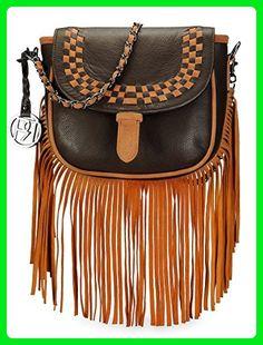 7c6ccf03de Phive Rivers Women s Crossbody Bag (Brown) (PR1072) - Crossbody bags (