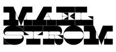 Maelstrom by Klim Type Foundry.