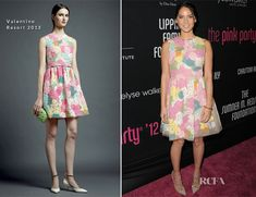Olivia Munn In Valentino - 8th Annual Pink Party