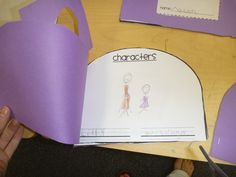 """Inside of purse for """"Lilly's Purple Plastic Purse"""" setting, characters, etc. Page of Lilly wants to be a ________ when she grows up. Then page of I want to be ___________ when I grow up! Tools For Teaching, Student Teaching, Teaching Reading, Learning, Beginning Of The School Year, New School Year, Kindergarten Literacy, Preschool, Kevin Henkes Books"""