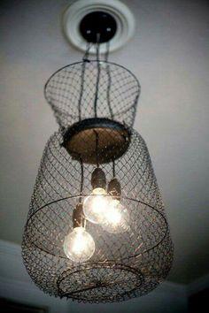 Bait trap light fixtures