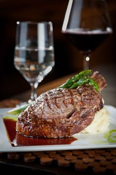 Ribeye Steak on medium well!!