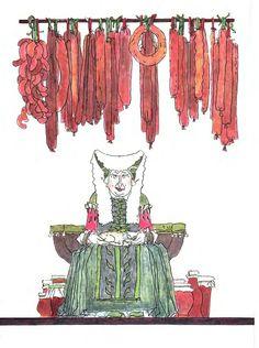 """Михаил Майофис «Сказки братьев Гримм. Бабушка Вьюга»   """"Картинки и разговоры"""""""