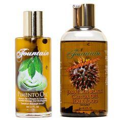 Fountain Pimento Oil and JBCO Hair Food Combo