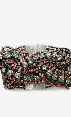 Elizabeth Cole Red, Coral And Multicolor Bracelet | VAUNTE