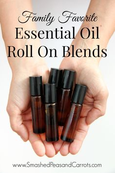 Essential oil family blends