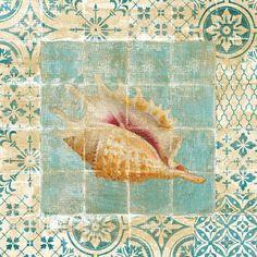 Shell Tiles II Blue (Danhui Nai)