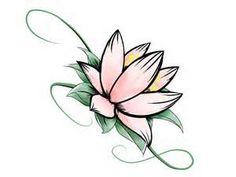 lotus flower for inside wrist tattoo - - Yahoo Image Search Results