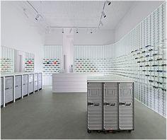 Opticians Store Design | Retail Design | Shop Design | Mykita, Berlin
