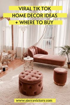 chic tik tok aesthetic bedroom rooms bedrooms inspired decorate shabby glam cozy living livingroom