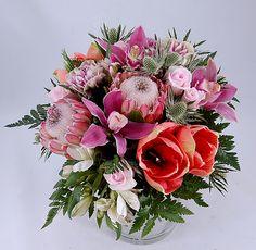 Цветочная Марка - Букет с экзотическими цветами