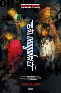 bigbang fxxk it , bigbang made the full album, bigbang made album, bigbang 2016 comeback, bigbang ideal type, bigbang 2017 comeback, bigbang 2016 comeback teaser