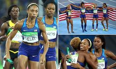 Team USA wins sixth straight Olympic gold in women's 4x400m relay #Daily Mail.. Bravo!