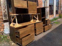 кухня соснова Wooden Kitchen, Firewood, Crafts, Timber Kitchen, Handmade Crafts, Diy Crafts, Craft, Arts And Crafts, Artesanato