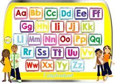 Italian for Kids / Italiano per Bambini - Alphabet Kids Learning Alphabet, Alphabet For Kids, Teaching Kids, Learn German, Learn French, Learn English, Spanish English, Learning Italian, Learning Spanish