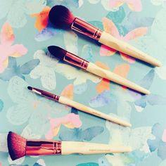 Vegan make up brushes from So Eco Natural Skin Care, Makeup Brushes, Skincare, Make Up, Vegan, Maquillaje, Skin Care, Makeup, Brushes