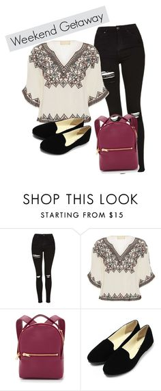 """Sin título #197"" by debanhi-fer on Polyvore featuring moda, Topshop, Love Sam y Sophie Hulme"