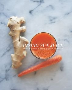 RISING SUN JUICE // The Kitchy Kitchen