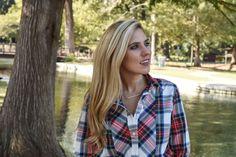 Plaid Shirt details on Texas Fashion Spot - blog