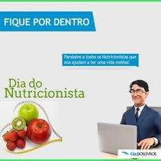 Hoje é o dia de quem cuida da alimentação para a nossa saúde: Dia do Nutricionista. ;) O profissional que sabe balancear com carinho e dedicação os alimentos para o corpo de cada pessoa. Nossos parabéns !:D  Confira ótimas dicas. -> http://profhorac.io/dz