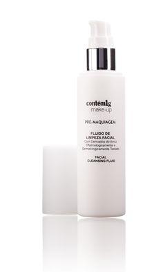 Fluido de Limpeza Facial   Contém1g make-up
