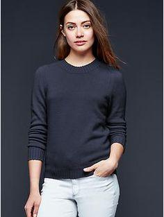 Cashmere crewneck sweater | Gap
