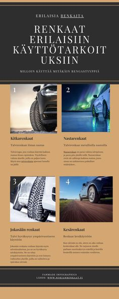 Bytt til Nokian Hakkapeliitta vinterdekk for din personbil / Nokian Tyres All Weather Tyres, Winter Schnee, Winter Tyres, Tired, Things To Come, Parfait, Countries, Studs, Snow