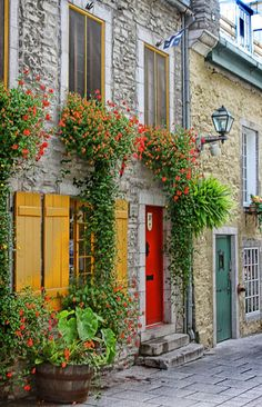 Lower Old Quebec. Quebec, Canada - So charming!