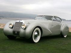 1937 Delage D8-120S Pourtout Aero Coupe