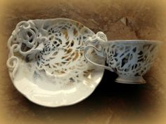 LACEFORMIS functional porcelain art