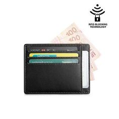 ea626a2fd4 Brand New 2017 Genuine Leather Card Holder Credit Card Case Money Organizer Men  Wallets Short Mini Wallet Clutch Purse Fashion