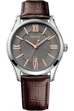 Hugo Boss Ambassador Grey Watch