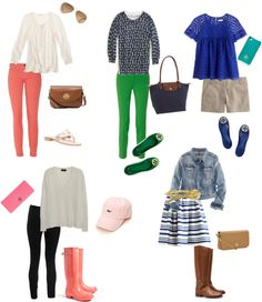 """""""Spring Essentials"""" by pinkprep37 ❤ liked on Polyvore"""